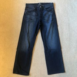 Men's 7 for all Mankind Relaxed Button Fly Jeans